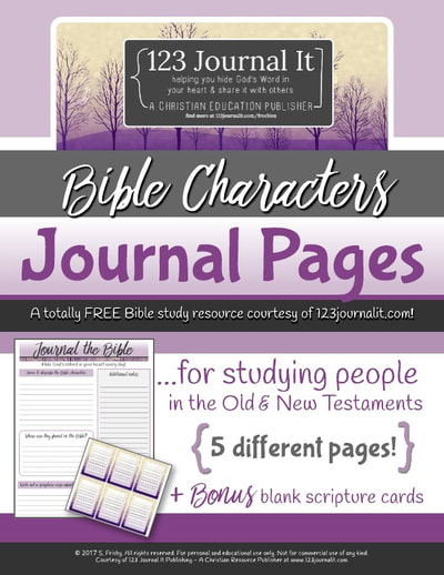 graphic regarding Free Printable Bible Study Journal Pages referred to as Absolutely free Christian Training Printable PDF Products - 123