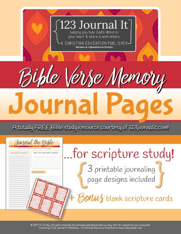photograph relating to Printable Bible Journal Pages named Free of charge Christian Training Printable PDF Components - 123