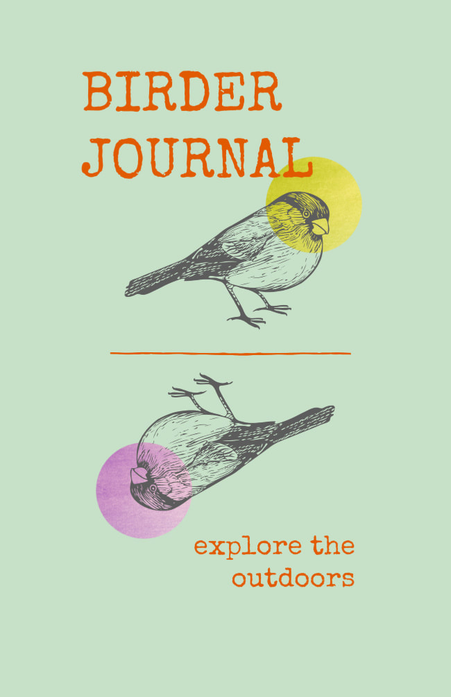 Birdwatching Journal for Outdoor Exploration and Recording Bird Species