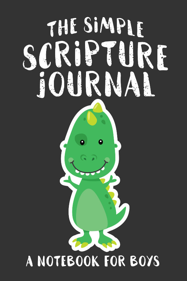 The Simple Scripture Journal for Tween Boys and Kids