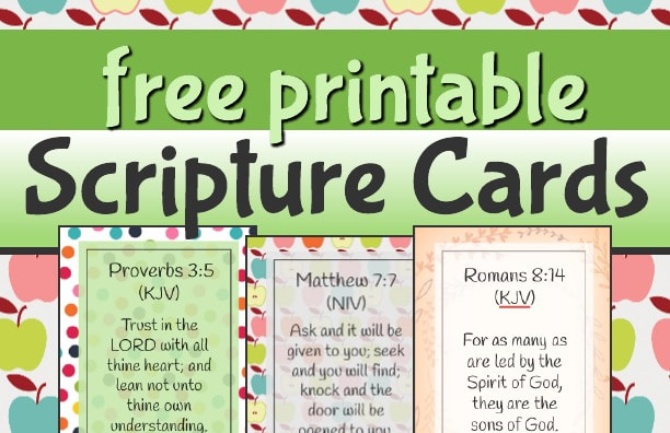 Declarative image intended for printable bible verses kjv