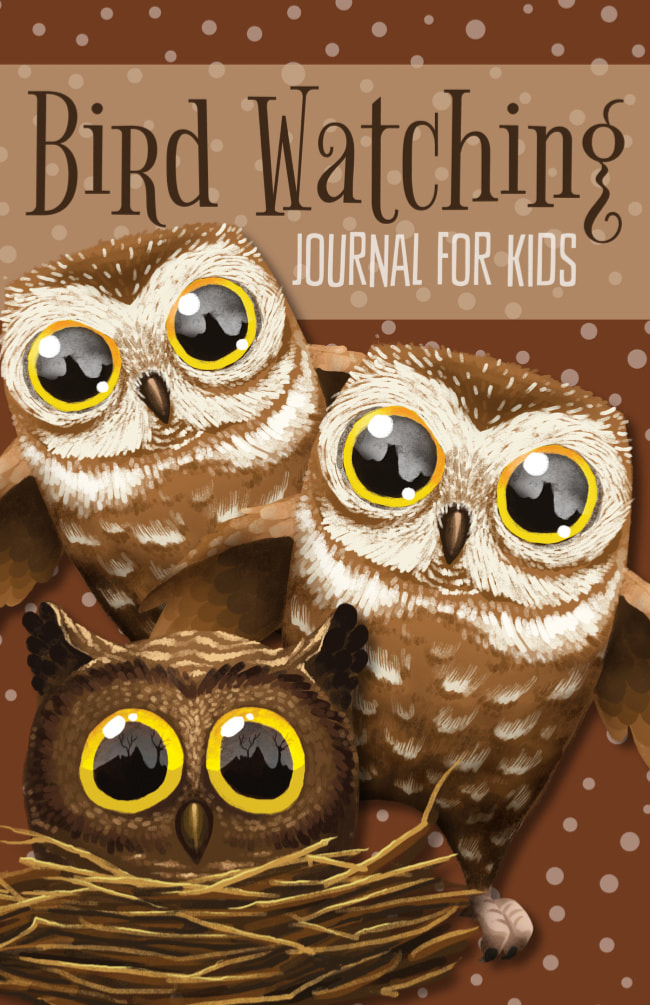 Cute Bird Watching Journal for Kids to Write and Draw in Nature
