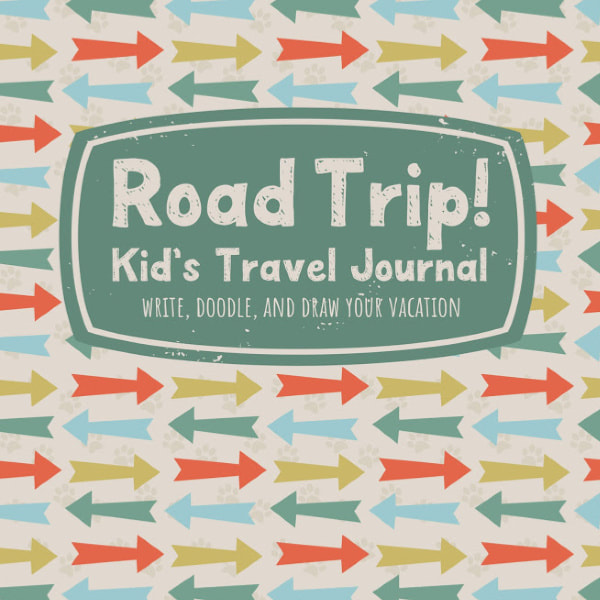 Kids Road Trip Travel Journal and Activity Book