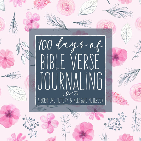 Mother Daughter Journal to do together for 100 Days of Bible Verse Journaling Christian Devotional Gift
