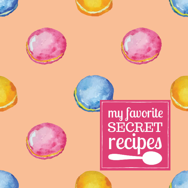 Cute Kids Recipe Journal for Recording Favorite Kitchen Dishes and Desserts