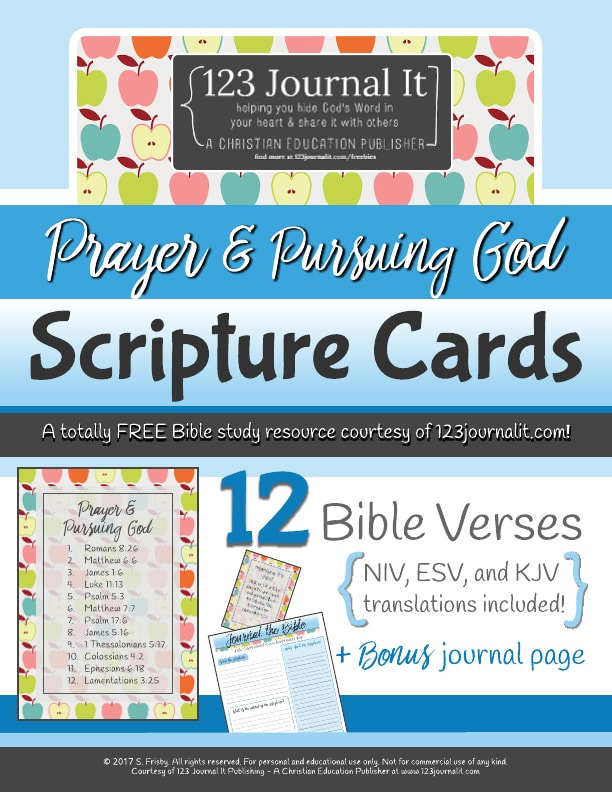 Free Christian Education Printable PDF Resources - 123 Journal It
