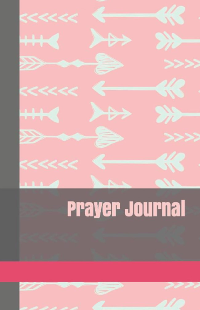 Easy Beginner Daily Prayer Journal for Teen and Tween Girls